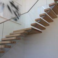 Freitragende Treppen
