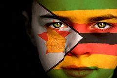 #Zimbabwe #Flag #Face #paint
