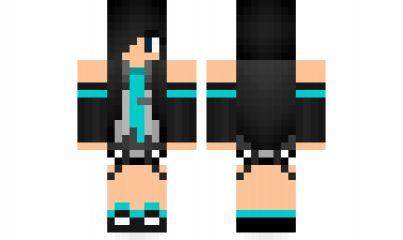 minecraft skin anime girl