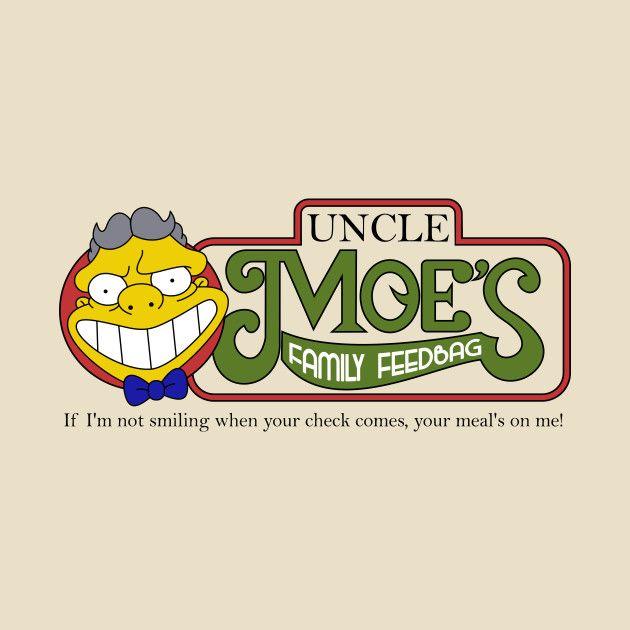 Mens Tank Top MOE/'S TAVERN Cartoon 90/'S Tv Show