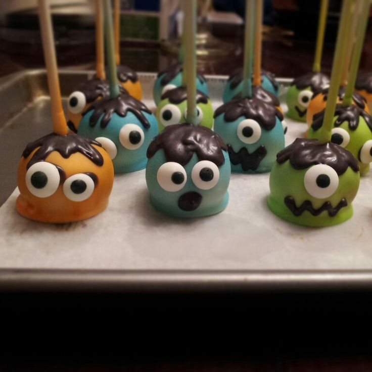 Monster Cake Pops                                                                                                                                                                                 Más