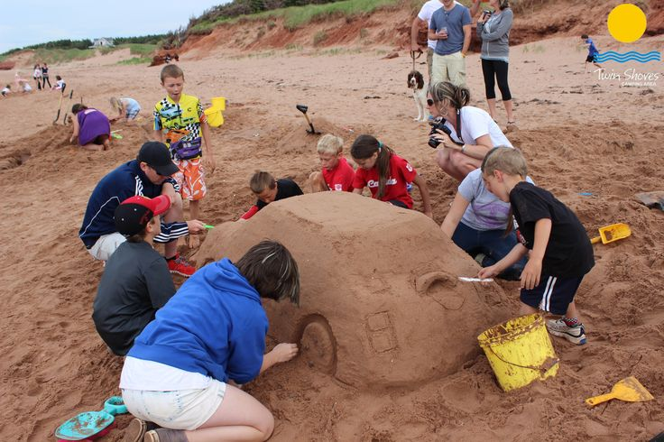 Sandcastle Building with Maurice Bernard at Twin Shores Camping Area - 2015  http://on.fb.me/1LSNxrv