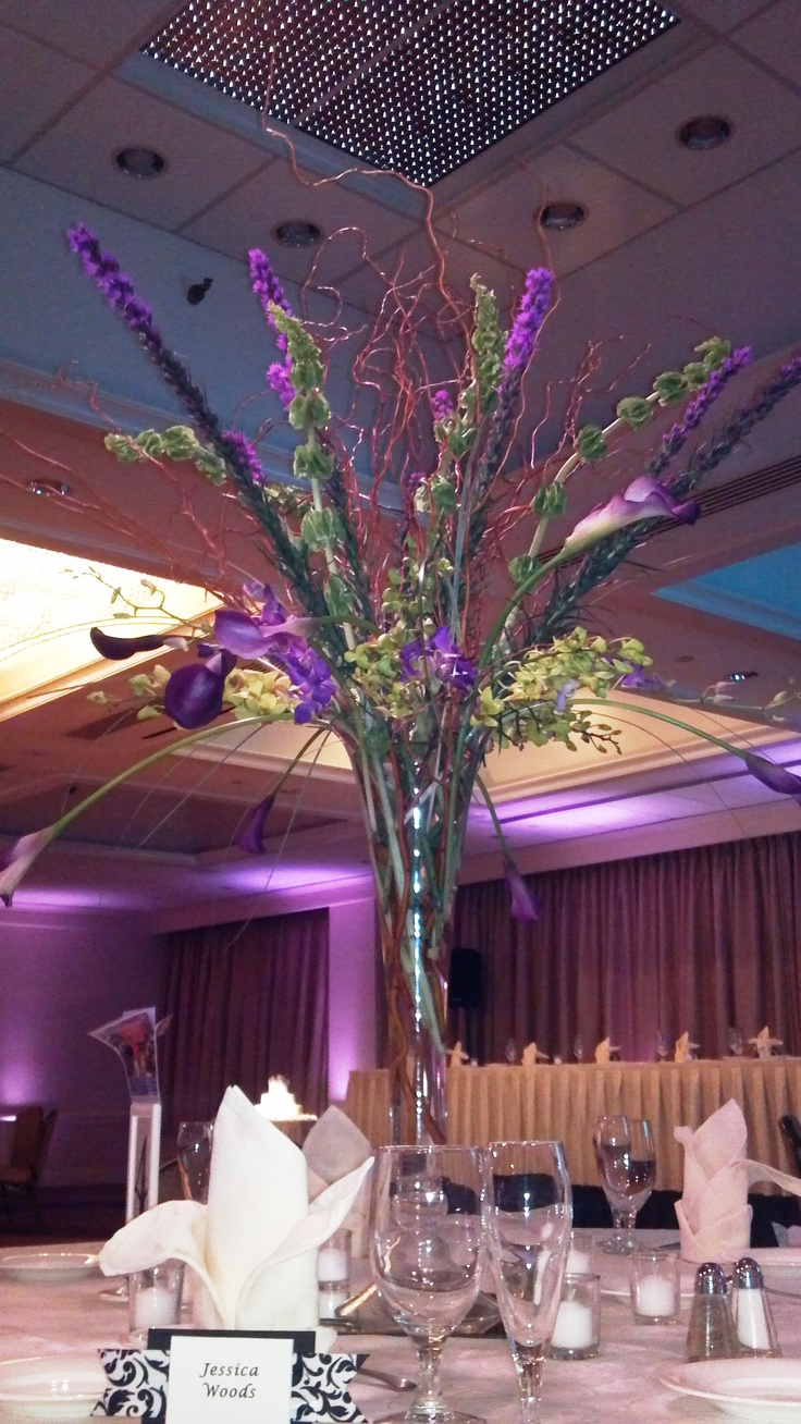 26 best tall centerpieces images on pinterest table for Wedding decorations centerpieces