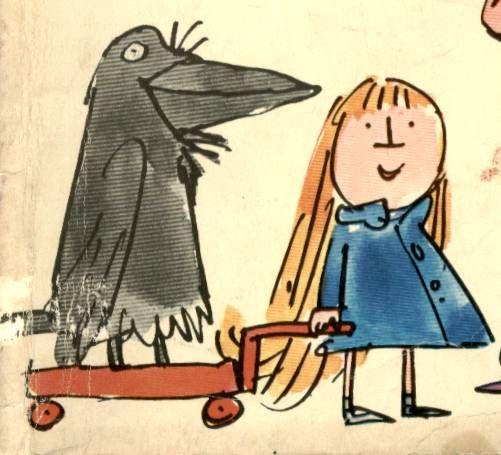 Artist: Quentin Blake (Arabel's Raven)