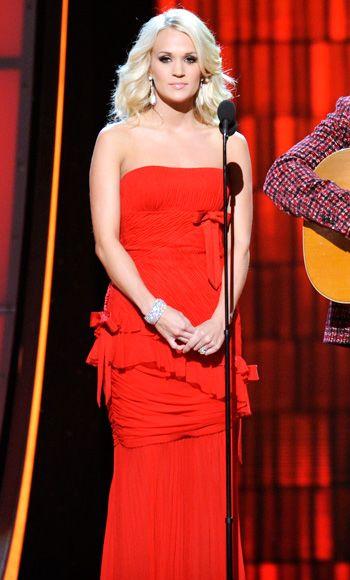 Carrie Underwood CMA Awards 2012