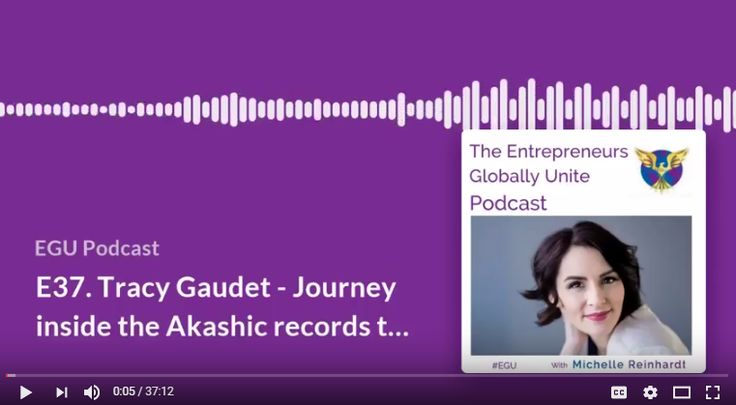 Journey inside the Akashic Records. Tracy Gaudet Online Business Alchemist.