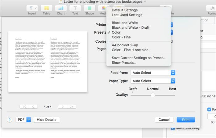 How to use printer presets in macOS  Pity the poor macOS Print dialog: its been around so long and we dont really look at it much. This is likely why Mac 911 receives regular (though not constant) questions about print settings. The Print dialog not just reflects Apples own notion of how printing should work it also includes functionality from third-party print drivers the software that tells macOS all of the parameters and special settings of particular output devices.  A recent question…
