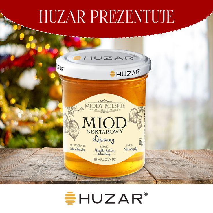 Subtelnie pikantny, pełen wyrazu i smaku, znany ze swoich zdrowotnych właściwości, Polski miód Lipowy 💛