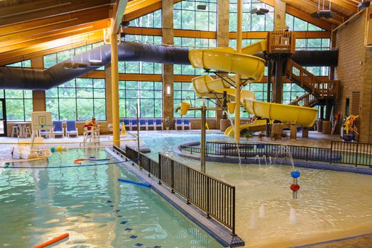 Aquatic Center @ Abe Martin Lodge in Brown County State ...