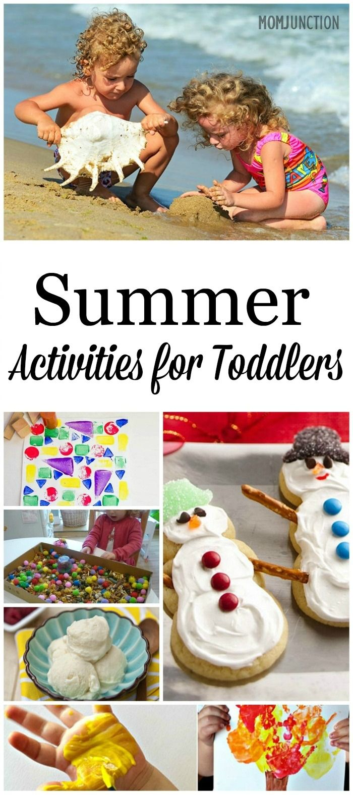 Fun Summer Activities For Toddlers: spending time with toddlers helps with better cognitive development for them. Let's look at 10 interesting summer activities for toddlers.