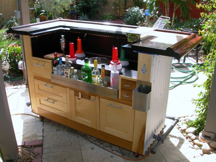 tiki bar ideas - Patio Bar Ideas