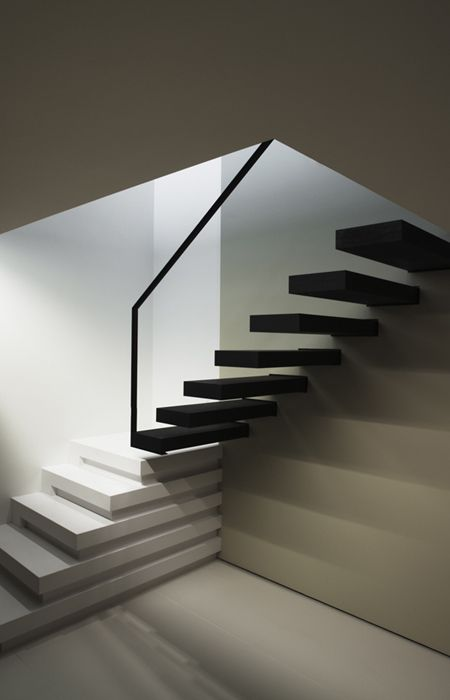 Staircase by Belgium architect Frank Sinnaeve.