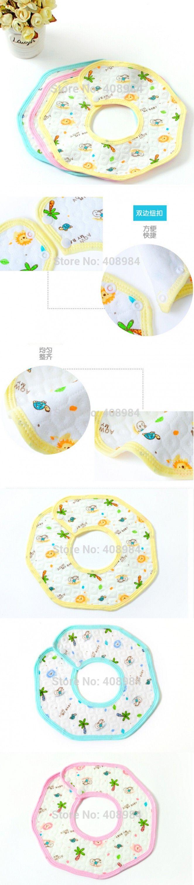 Octagonal Feeding Burp Cloths cotton Baby Waterproof bib boys girls bibs Infant saliva towels Baby Accessories $62