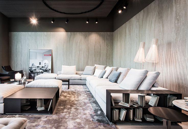 #FLEXFORM GROUNDPIECE sectional #sofa, #design Antonio Citterio