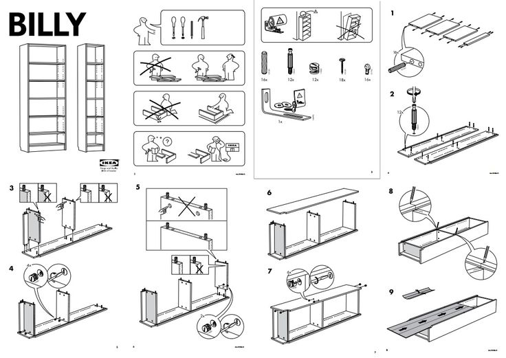 "Ikea is notorious for providing cheap, affordable furniture for college students and first-time home buyers looking to decorate their rooms on a budget. Ikea is also infamously known for its confusing instruction manuals. Not the best informational graphics ever ""constructed,"" but one none then less."