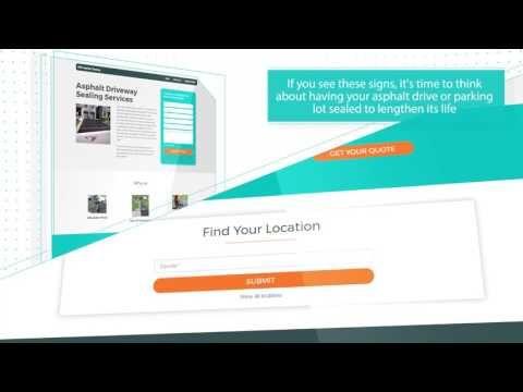 (1) Asphalt Driveway Sealing Company - YouTube