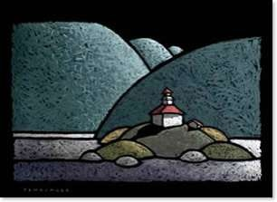 Scanlon Gallery - On The Rocks - John Fehringer