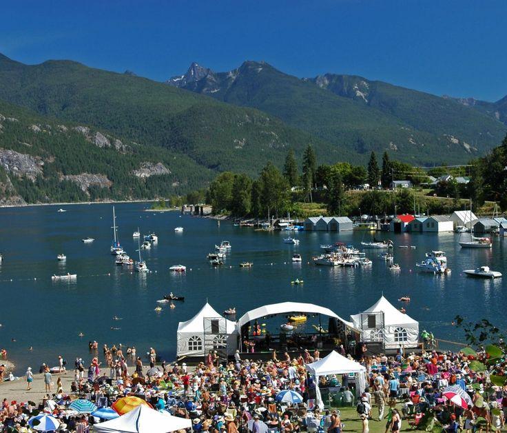 Kootenay Lake. British Columbia, Canada
