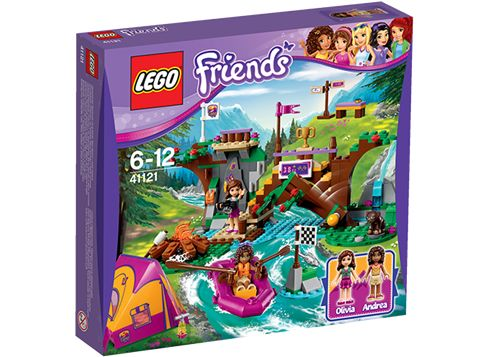 LEGO Friends 41121 Adventure Camp - rafting