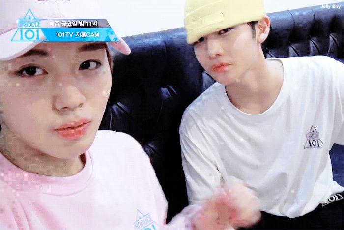 Jihoon and Jinyoung