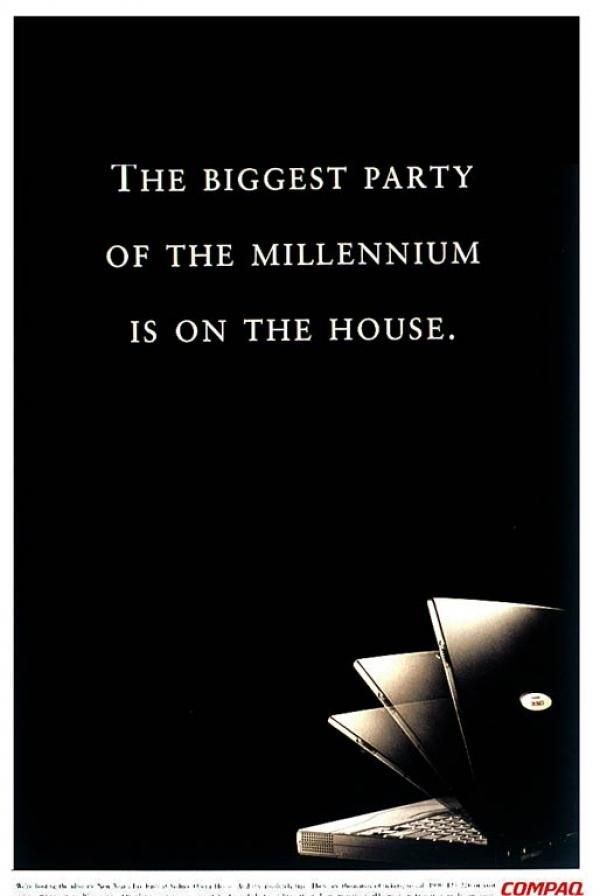 OPERA HOUSE, Sponsorship Of New Years Eve Party, DDB Sydney, Compaq, Print, Outdoor, Ads