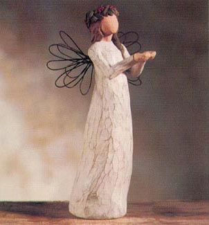 I absolutely love Willow Tree Angels