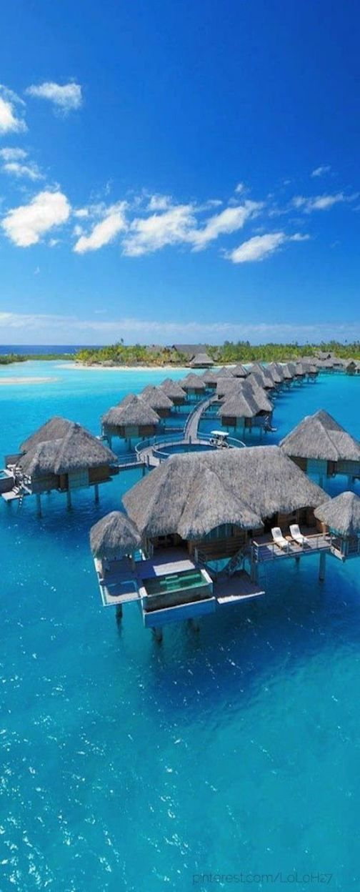 Bora Bora and the 11 best breathtaking beaches - I want to visit them all!
