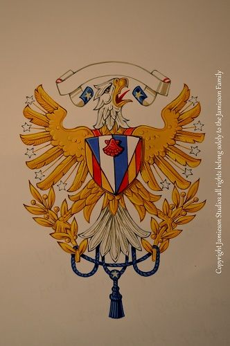 American Armiger Eagle. New ideas and concepts for heraldry appropriate for citizens of the Republic of the United States of America. Art work by American heraldic artist Candice Jamieson (America, Colonial Designs, Colonial heraldry, American heraldry, American crests, American College of Arms, American armigers, American design. United States Navy, United States Marine Corps, US Army, US Airforce) To commission new American new American Arms: enquiries@jamiesonstudios.com