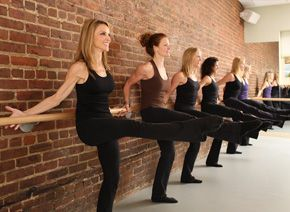 The Figure Method for Thinner Thighs - ballet based excercises and you don't have to have a barre to do them...