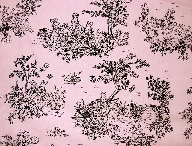 pink and brown paisley fabric   Brown Toile Curtains   Sew Special ...