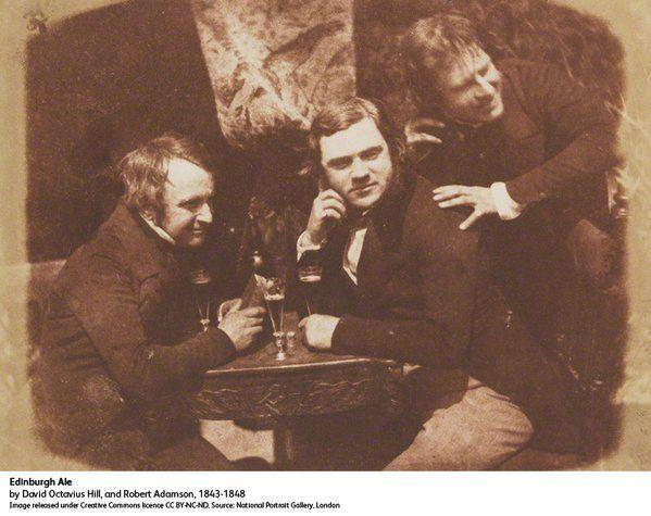 Scottish pioneers Hill and Adamson.