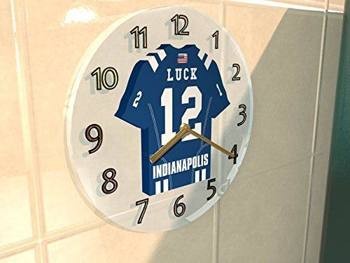 NFL JERSEY WALL CLOCKS - AFC SOUTH - ANY NAME, NUMBER & TEAM - YOU CHOOSE - BRAND NEW ACRYLIC SHIRT DESIGN For more product information please visit the fanplastic.co.uk website. You will find better offers, social media updates, competitions and much more! The clock movement runs on a single AA Battery (**Battery Not Included**). This is not an Official Licensed Product 100% UNOFFICIAL: The names in the listing titles are for description purpose only. Please contact us