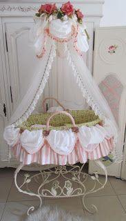 Angela Lace: Marie Antoinette Baby Basket