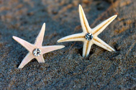 Orecchini stella marina vere stelle marine di ItalianIsaStyle