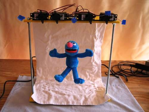 Groovin' Grover: A Microcontroller-based Marionetter