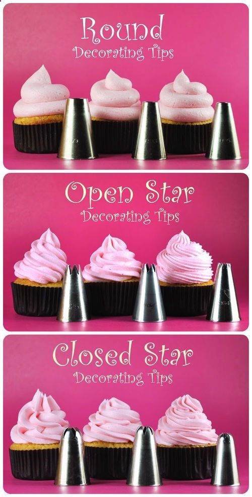 Cupcake Decorating Tips...