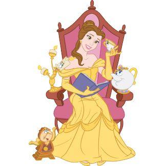 Дисней Принцессы: Коллекция картинок с Белль