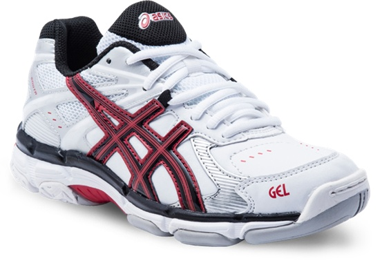 Gel 500 TR PS  White/Red/Black  Available in sizes 10 - 3  (Also available in Black/Black/Charcoal)