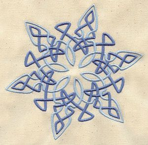 Celtic Snowflake   Urban Threads: Unique and Awesome Embroidery Designs