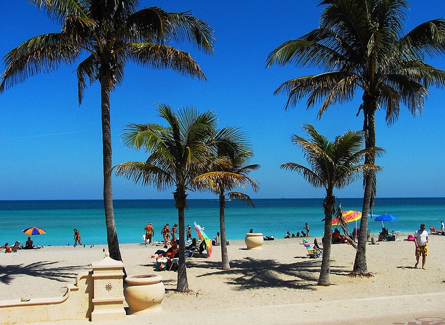 Broadwalk Hollywood Beach Florida By Scape Pics Via Flickr