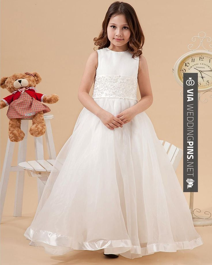 Yes - Organza Satin Flower Girl Dress  Read More: | CHECK OUT MORE GREAT FLOWER GIRL AND RING BEARER PHOTOS AND IDEAS AT WEDDINGPINS.NET | #weddings #wedding #flowergirl #flowergirls #rings #weddingring #ringbearer #ringbearers #weddingphotographer #bachelorparty #events #forweddings #fairytalewedding #fairytaleweddings #romance