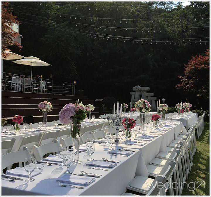 로맨틱 야외웨딩 베뉴