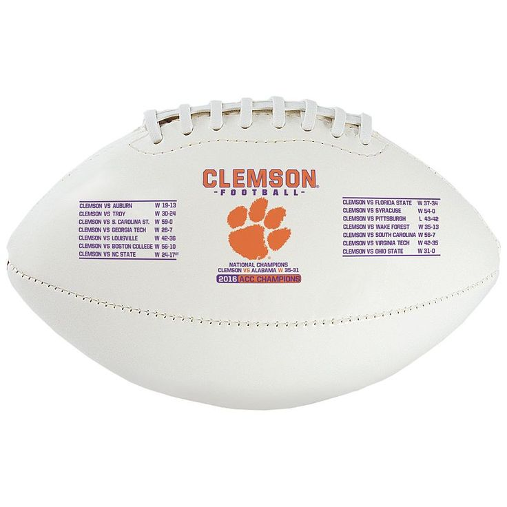 Rawlings Clemson Tigers 2016 College Football Playoff National Champions Youth Football, Multicolor
