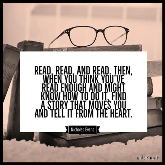Quotable – Nicholas Evans - Writers Write