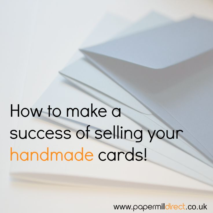 Selling handmade cards lots of great tips for setting up for How to sell handmade crafts on facebook