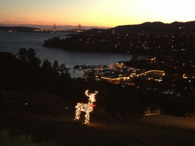 Marin County Real Estate Market Update - November 2015 -Christmas in Tiburon, CA - www.YourPieceofMarin.com