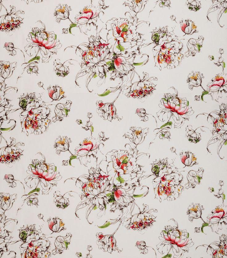 Covington Upholstery Fabric - Artistic Sketch Roseus 713