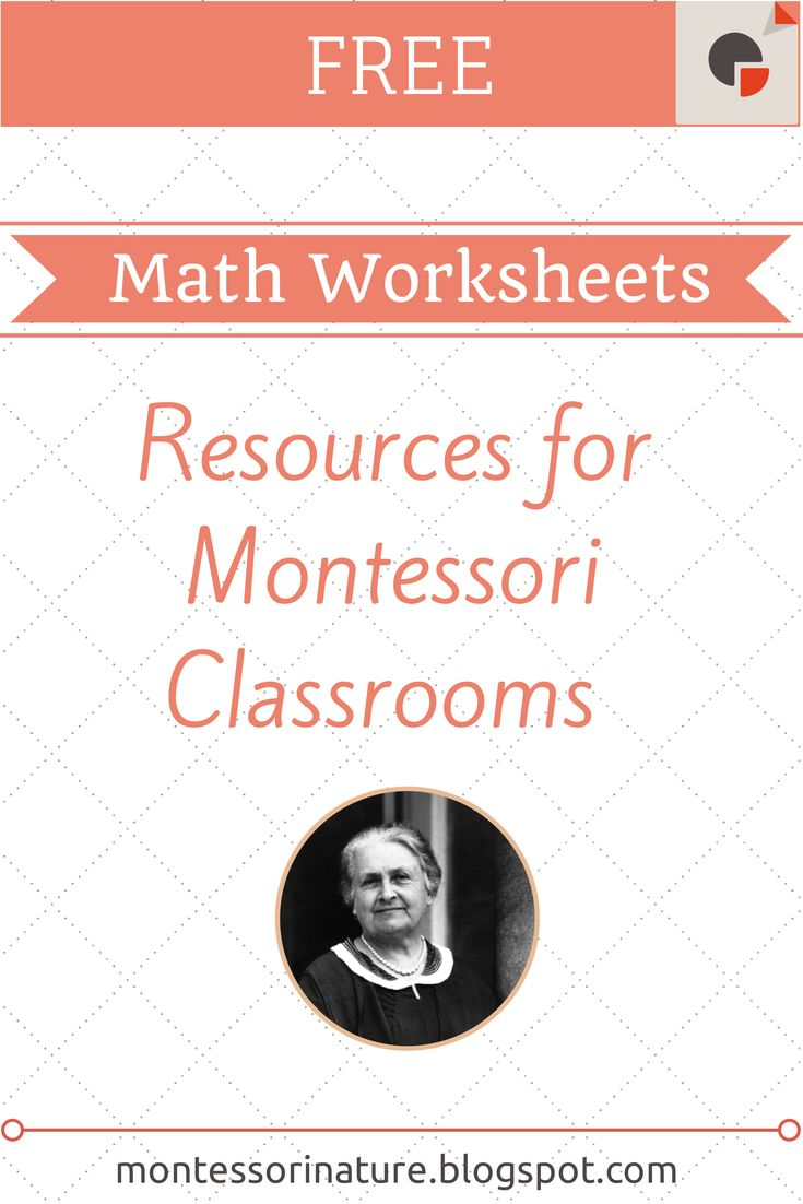 58 best montessori images on Pinterest | Montessori materials ...