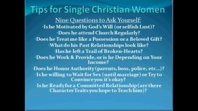 tiff christian single women The many roles of the christian woman the christian woman is young and old, single and married, raising a family with a spouse and as a single parent, caring for children and caring for aging parents, working at home and working in the marketplace.