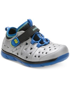 Stride Rite M2P Phibian Shoes, Toddler Boys (4.5-10.5) - Silver 10
